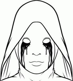 Scary Horror Coloring Pages