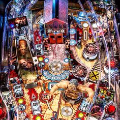 """Stern's """"The Walking Dead"""" I CAN'T WAIT to play this game!!!!!! Walking Dead Pinball, The Walking Dead, Pinball Wizard, Gaming Rules, Game Themes, Arcade Machine, Mechanical Design, Nerd Geek, Games To Play"""