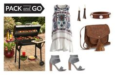 """""""Backyard Grillin"""" by alirabbits ❤ liked on Polyvore featuring Chicwish, Splendid, Vero Moda, Design Lab, Lizzie Fortunato and GAS Jeans"""