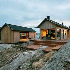 A minimalist off-grid coastal home away from home that holiday dreams are made of. Meet Project-Ö by a self… Island Design, Tiny House Design, Coastal Homes, Prefab, Modern Farmhouse, My House, Architecture Design, Cottage, House Styles