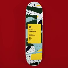 Element - Atelier Bingo - Skateboard Series