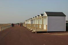 beach huts in Lytham St. Blackpool Pleasure Beach, Beach Sunrise, St Anne, Beach Huts, Days Out, Nautical, My Photos, Places To Visit, Tower
