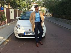 Fiat 500 and suit supply single strap monks