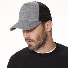 Heather Grey James Perse Trucker Hat