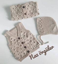 Knit Vest, Baby Cardigan, African Wear Dresses, Baby Knitting Patterns, Baby Dress, Crochet Bikini, Knitwear, Crochet Hats, Sewing