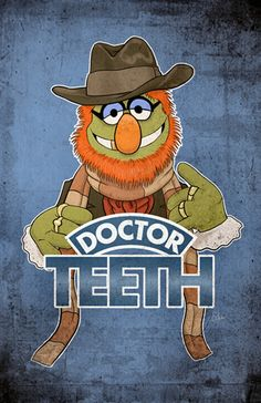 'Doctor Teeth'. I'm pretty sure I want every muppet related print James Hance has available :)