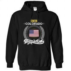 Born in CENTER-COLORADO V01 - #matching shirt #tshirt bemalen. GET YOURS => https://www.sunfrog.com/States/Born-in-CENTER-2DCOLORADO-V01-Black-Hoodie.html?68278