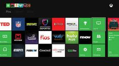 Image result for microsoft home screen xbox 1