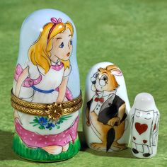 Limoges Alice in Wonderland and Friends