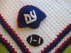 Ny Giants Crochet Afghan Pattern : 1000+ images about Crochet on Pinterest Baseball baby ...