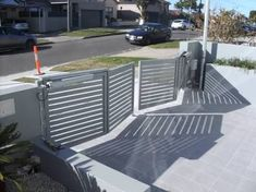 Double Swing Gate Installation Inside View Gates