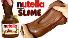 DIY NUTELLA SLIME | EASY DIY Toys for Kids - YouTube