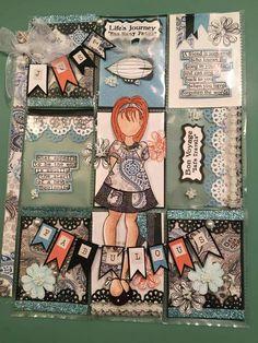 Prima Doll Fabulous  Pocket Letter