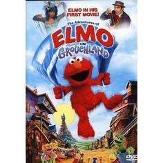 The Adventures of Elmo in Grouchland DVD $1.59 #bestseller