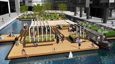 "First floating public ""pocket park"" coming to Paddington: European Land"