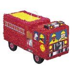 Fantastic pinata for a fire engine themed birthday party. Shop today for Fire Engine party supplies at Discount Party Supplies. Fireman Party, Firefighter Birthday, Fireman Sam, Firefighter Cakes, Birthday Supplies, Birthday Party Themes, Birthday Ideas, 3rd Birthday, Happy Birthday