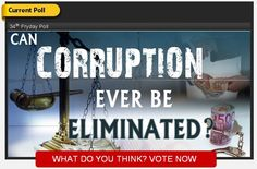 Is there an end to #corruption ?