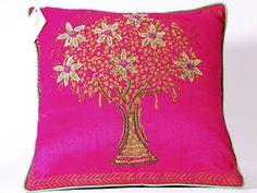 banyan tree on Cushion cover