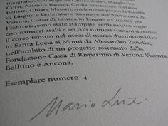 Sidus Iuliarium resurgit i libri stampati al torchio dagli studenti dell'Università di Verona sotto la preziosa guida di Alessandro Zanella
