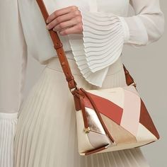 Radley's Oxleas design with distinctive colour block and metallic accents is the touch of summer you've been waiting for☀ Radley London Handbags, Radley Bags, Medium Crossbody Bags, Black Crossbody, Irish Pottery, Striped Shoulder Bags, Irish Design, Dog Branding, International Jewelry