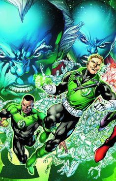"""""""Rise of the Third Army""""! As John Stewart discovers there's a new GL on Earth, the Third Army Strikes! Also in this issue: EVERYTHING changes for Guy Gardner!"""