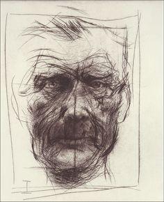 A Beckett Metamorphosis I-VI by Alan Flood