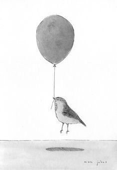 Marc Johns: What birds do when we aren't looking
