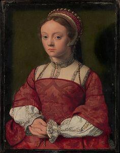 Portrait of a Young Woman, Netherlandish Painter; circa 1535. Metropolitan Museum of Art.