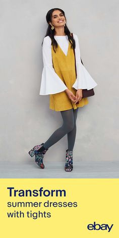 Transition into fall by adding layers with new must have fall dresses. Search dresses on eBay.