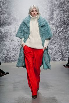 Pin for Later: Autumn in 100 Outfits: The Must-See Looks From the Major Fashion Weeks Paul & Joe Autumn/Winter 2014
