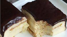 Nepečený dezert s famóznou čokoládovou polevou pripravený za 10 minút! - Recepty od babky Romanian Desserts, Russian Recipes, No Bake Cake, Tiramisu, Cake Recipes, Sweet Tooth, Cheesecake, Deserts, Good Food