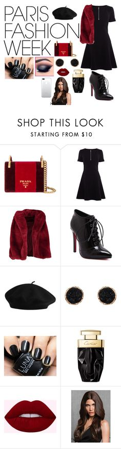 """""""Pack and Go: Paris Fashion Week contest"""" by gabby-galindo-97 ❤ liked on Polyvore featuring Prada, Karen Millen, Boohoo, Humble Chic, parisfashionweek and Packandgo"""