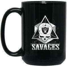 Oakland Raiders Mug Savages Team Logo Coffee Mug Tea Mug Oakland Raiders Mug Savages Team Logo Coffee Mug Tea Mug Perfect Quality for Amazing Prices! This item