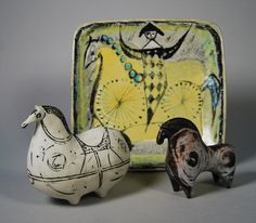 Margaret Hine Dish and Lindberg's Horses