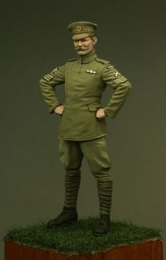 RFC pilot in 54mm from Tommy's War. Click on the pic for more details