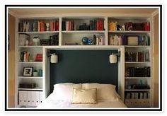 Lighted Bookcase Headboard King Updated Bookcase Headboard For Queen Size Bookcase Headboard Plans Bookcase Headboard King, Build A Headboard, Bed Headboard Design, Headboard With Shelves, Headboard With Lights, King Size Headboard, Headboards For Beds, Headboard Ideas, Bed Headboard Storage