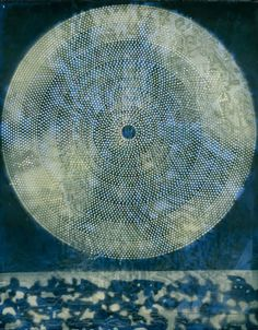 """Naissance d'une galaxie"" (1969) - A painting by Max Ernst."