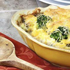 Kartoffel-Brokkoli - Auflauf