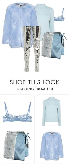 """Ice Princess"" by qnniejas-770 ❤ liked on Polyvore featuring Ermanno Scervino Lingerie, Coast, Missoni and Balenciaga"