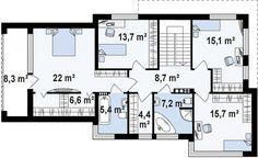 Casa moderna con espectacular diseño, 4 dormitorios y 2 garajes-10