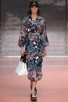 Marni | Spring 2014 Ready-to-Wear Collection | Style.com graphic japanese floral
