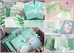 Mint wedding or wedding in mint color - design ideas, the image of the bride and groom, photo