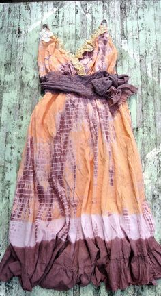 Rustic Gypsy Cowgirl Slip Dress Cottage chic by TrueRebelClothing Cute Dresses, Vintage Dresses, Vintage Outfits, Cute Outfits, Gypsy Style, Boho Gypsy, Bohemian Style, Cowgirl Outfits, Western Outfits