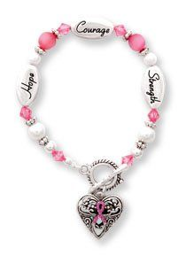 Breast Cancer Awareness Silver & Crystal Expressively Yours Bracelet on Amazon today for $7.99 & eligible for FREE Super Saver Shipping   find more items like this at http://www.ddsgiftshop.com/jewelry  Be a fan on Facebook here https://www.facebook.com/pages/Amazon-Deals-Jewelry/456038321132815