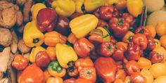 buah apa yang sering disebut sayur?jawabannya adl tomat, paprika, timun, kapri, &terong! #healty #food #fitspiration
