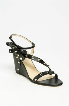 d28e32f8c71 Valentino  Rockstud  Wedge Sandal available at Nordstrom  795.00 Valentino  Rockstud Shoes
