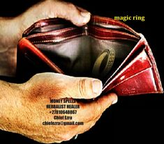 Get yourself the magic wallet or magic ring which will help you get money instantly in your house by the powers of magic and spiritual being. Chief Ezra magic wallet has got strong customized powers to bring you money every day. The wallet is made specifically to bring you money using strong magic money powers of ancestors My Money, How To Get Money, Money Spells That Work, Candle Spells, Magic Ring, Spelling, Spiritual, Strong, Wallet