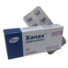 Xanax (Alprazolam) 1mg by Parke-Davis x 30 Strip http://ansapharmacy.com/