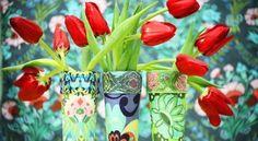 Coloque a sua criatividade para trabalhar fazendo vaso de flores feito de copo, para redecorar os se