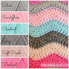 Thimbles and Rings: Olivia's Ripple Blanket